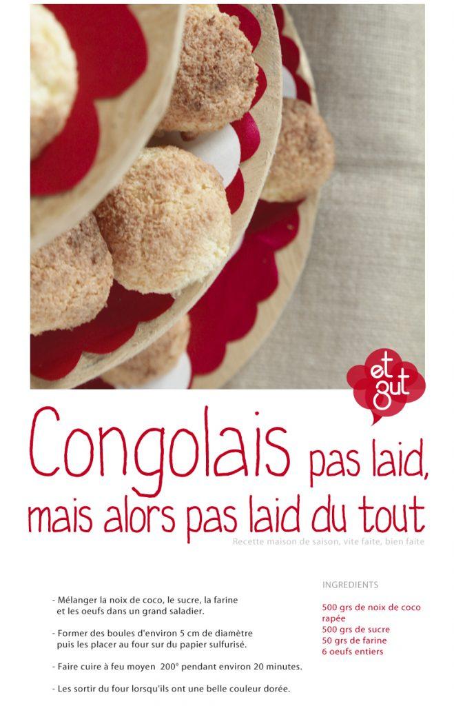 recette congolais à la noix de coco