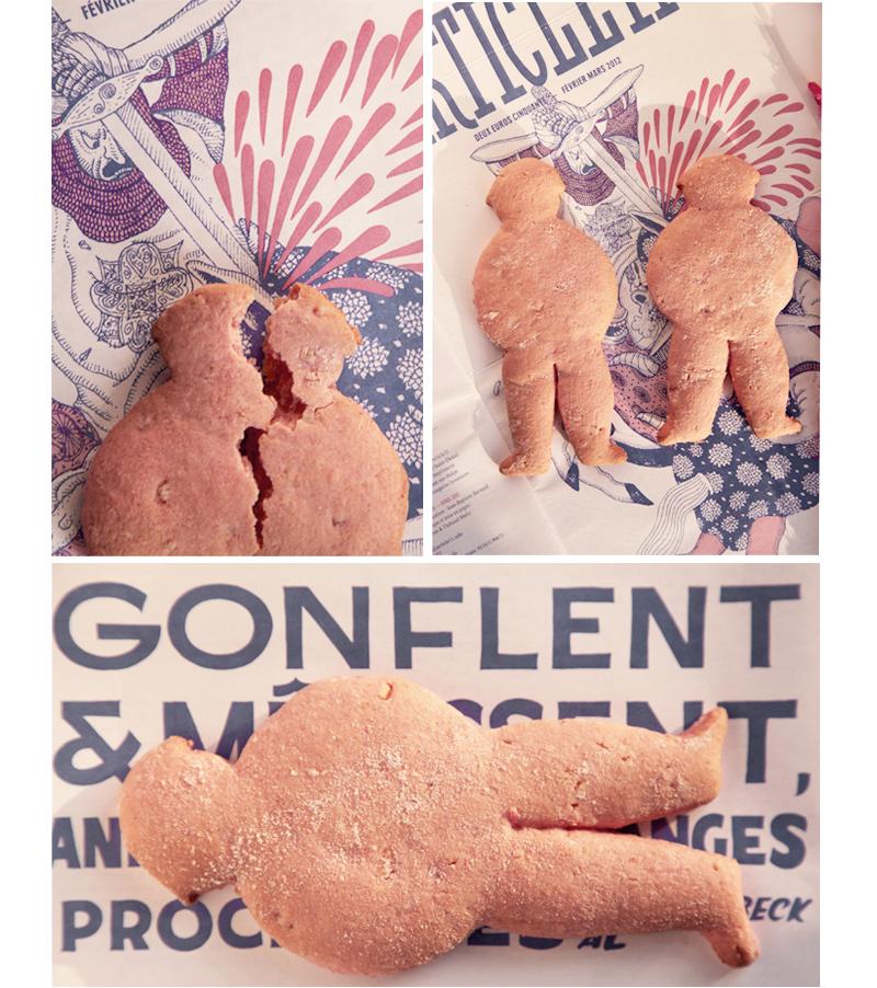 recette pantin rose à l'orange confite
