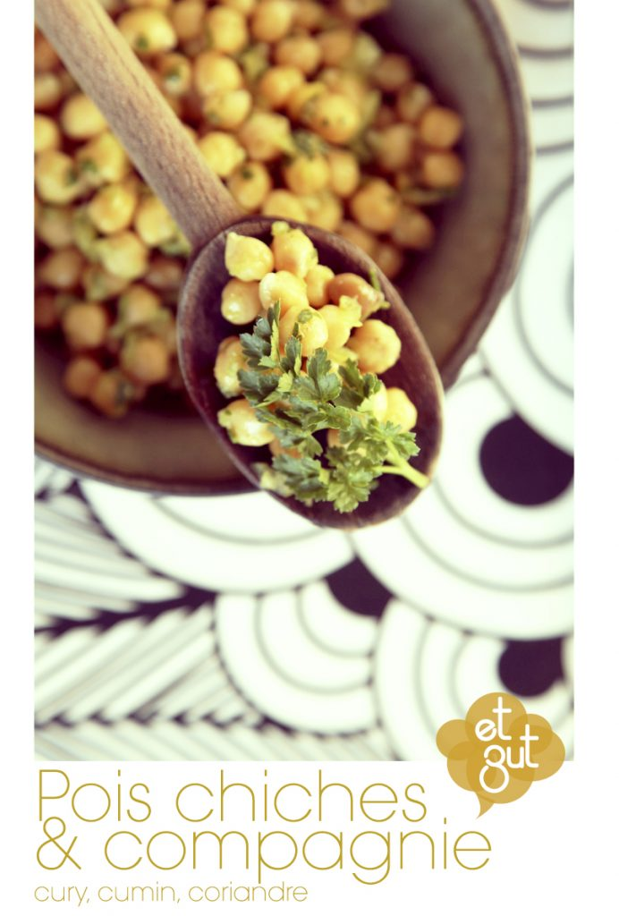 recette pois chiche curry cumin coriandre