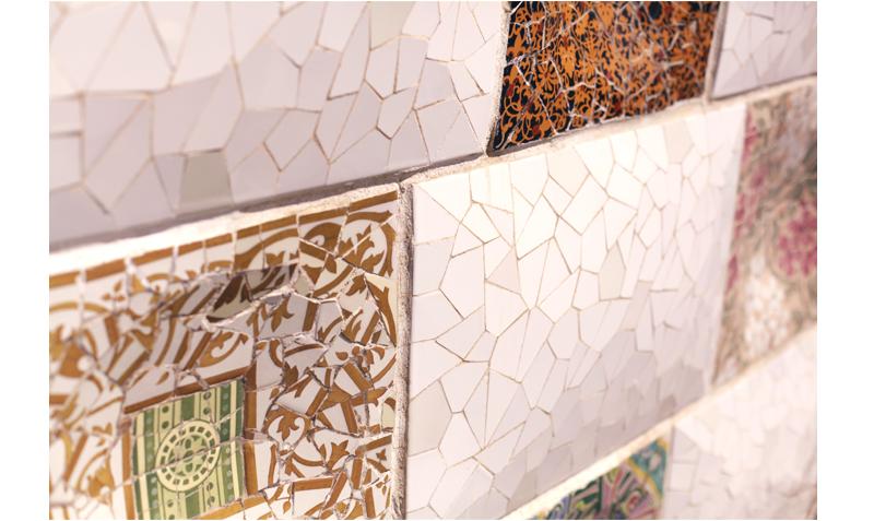 mozaique Gaudi
