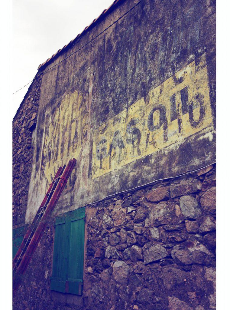 veille pub shell, mur peint