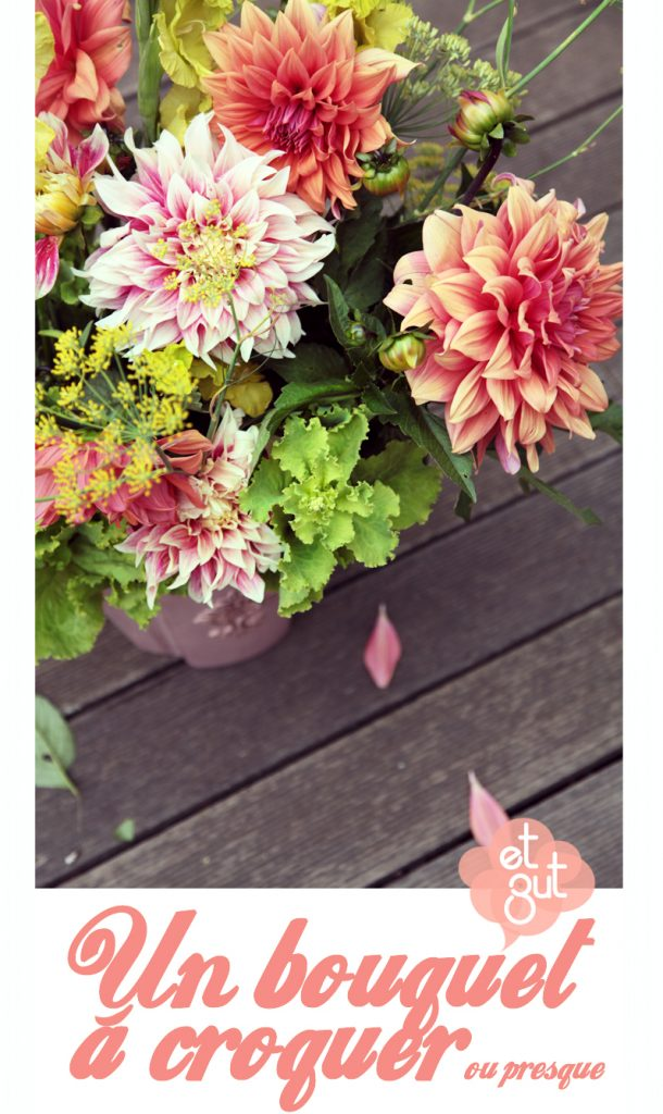 bouquet salade verte aneth