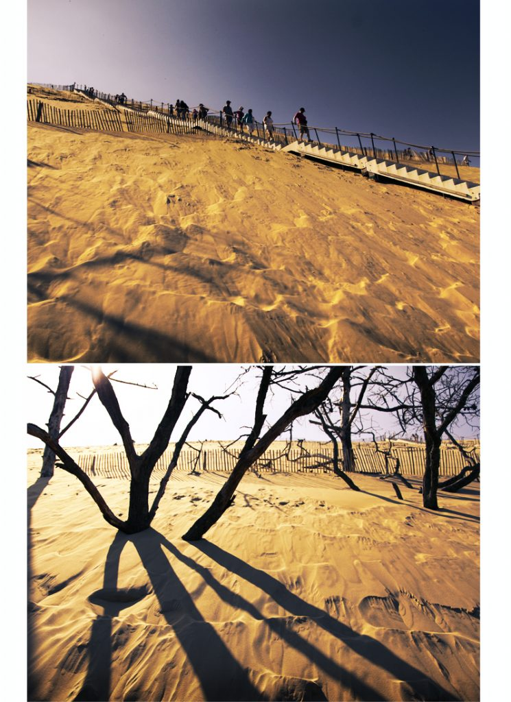 ensablement dune du pilat ou pyla