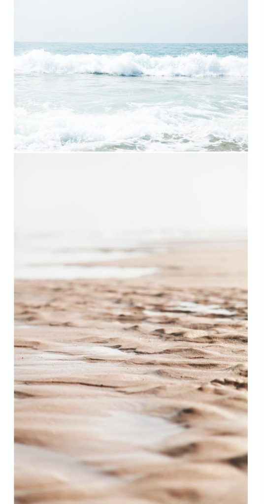 océan plage desertique