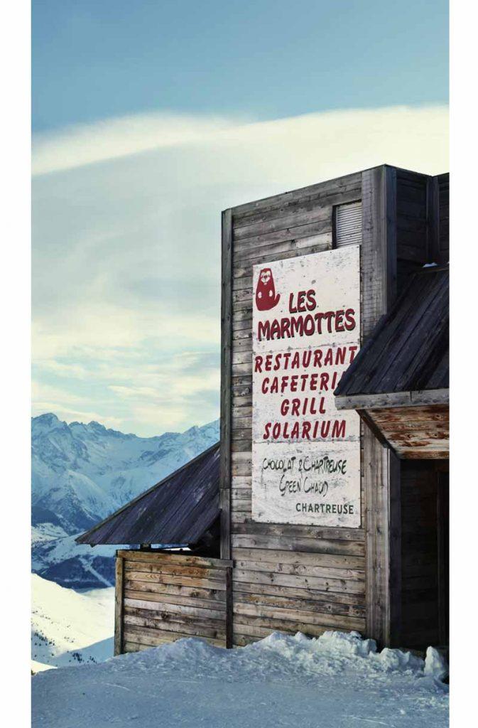 Les marmottes restaurant d'altitude Alpe d'Huez