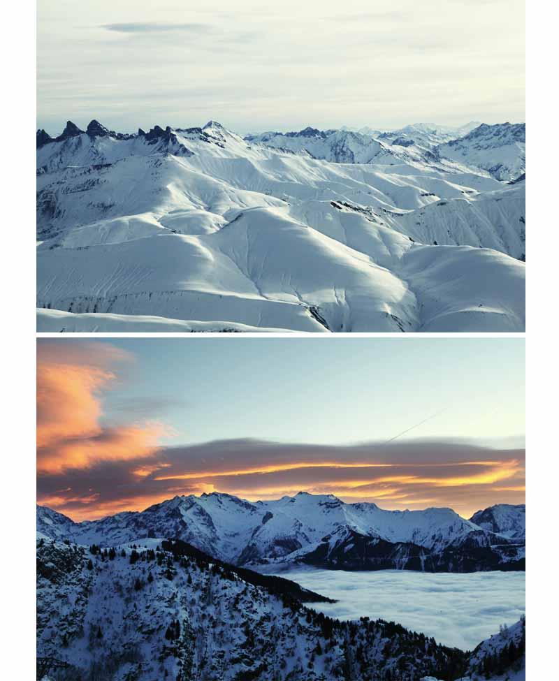 massif les Grandes Rousses Alpes