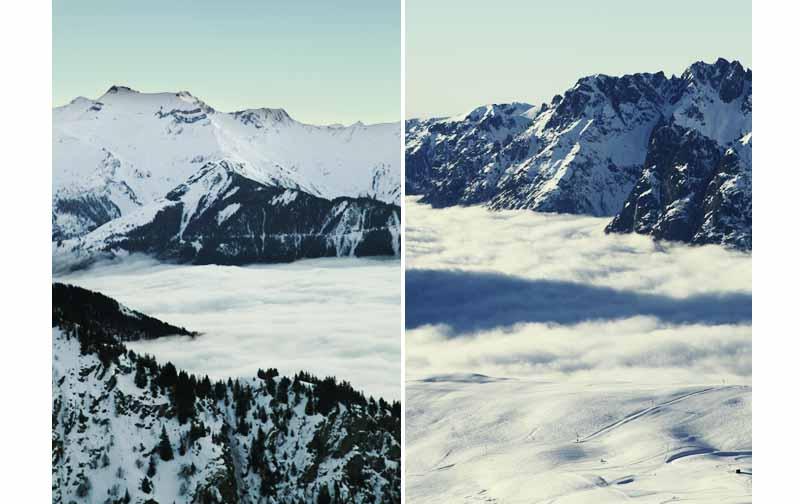 mer de nuage Alpes