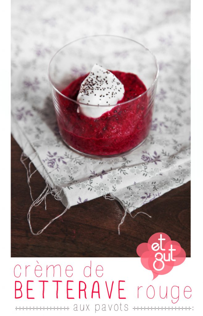 verrine betterave rouge