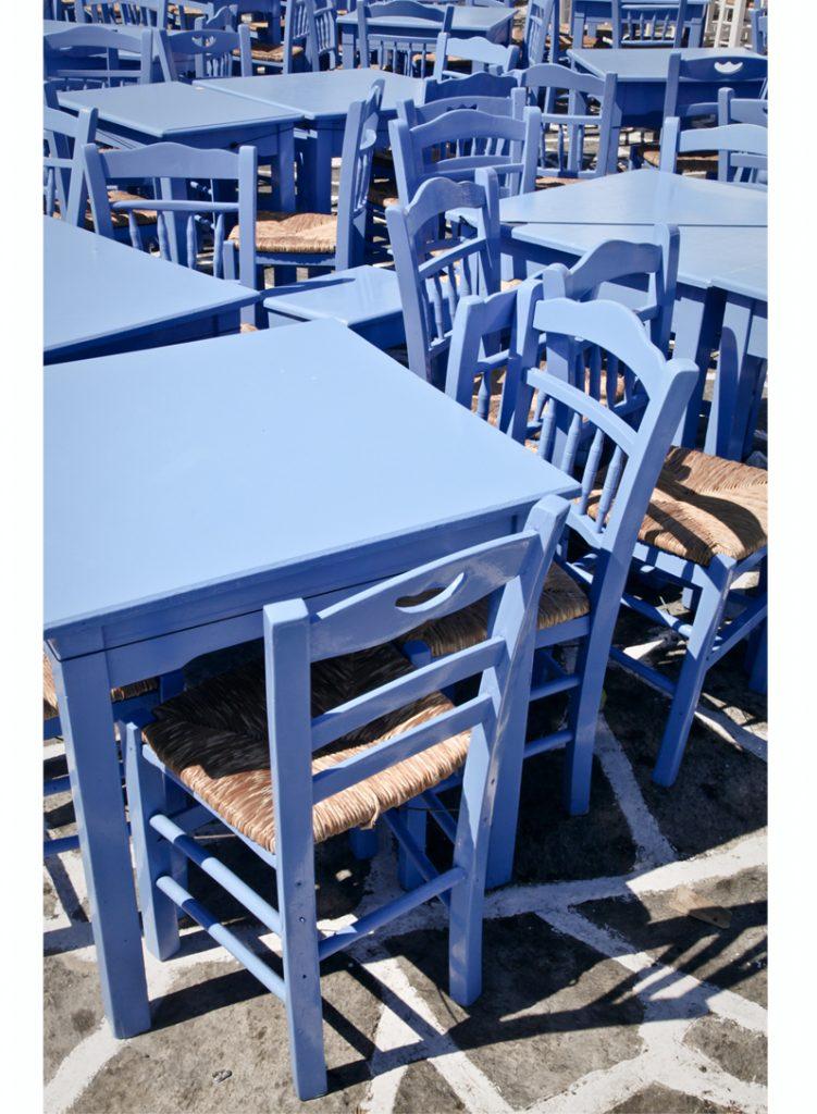 bleu des Cyclades
