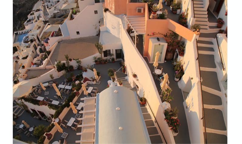 hotel de luxe Santorin